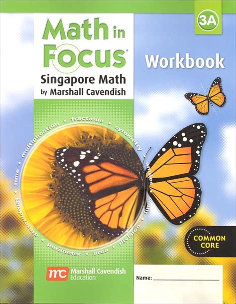 Math In Focus Grade 3 Workbook A (047468) Details  Rainbow Resource Center, Inc