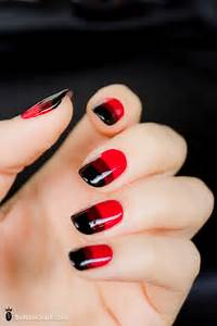 French nail art this is a simple way of painting your nails