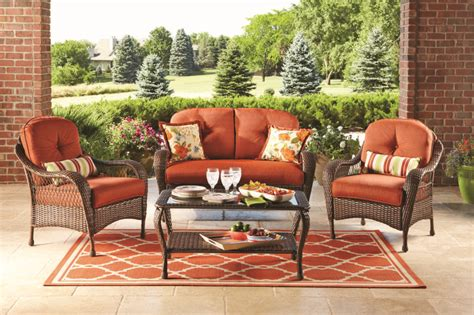 Azalea Ridge Patio Furniture by Better Homes And Gardens Azalea Ridge 4 Patio