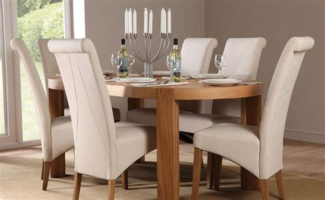 oval dining room table sets home furniture design