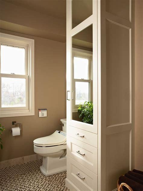 bathroom and closet designs five great bathroom storage solutions