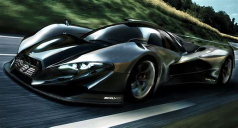 mercedes to greenlighting new mid engined supercar