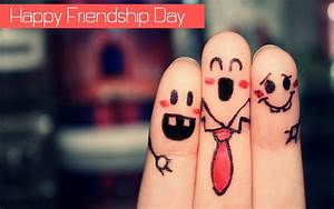20+ Happy Friendship Day Wallpapers with Quotes