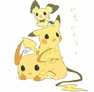 131 best images about Pichu / Pikachu / Raichu on ...