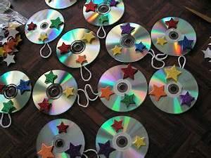 Mit Cds Basteln : weihnachts cds mit sternen basteln ~ Frokenaadalensverden.com Haus und Dekorationen