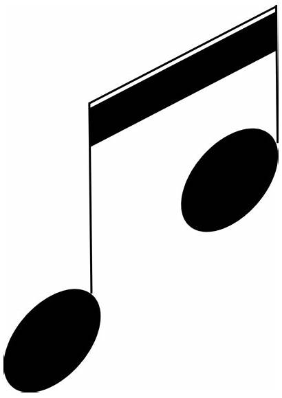 Notes Clip Transparent Note Musical Clipart Background