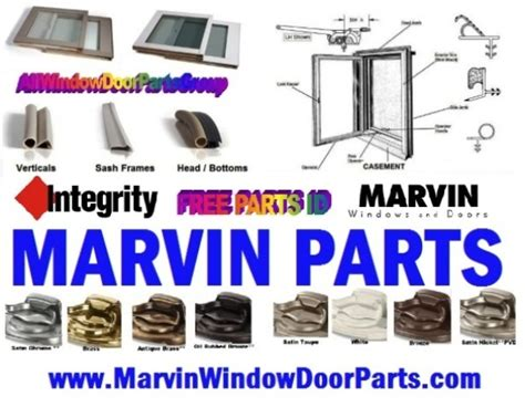 marvin window hardware parts awning casement double single hung roto gear operators truth