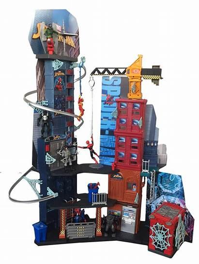 Spider Homecoming Toys Playset Hasbro Marvel Mega