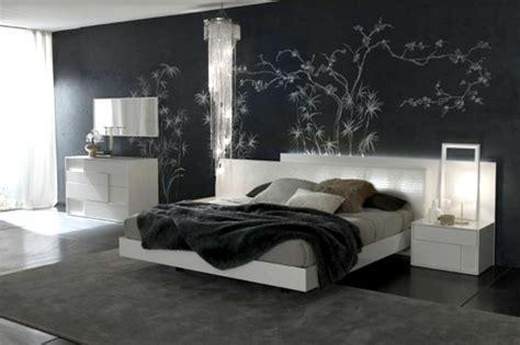 chambre gris noir la déco chambre à coucher adulte le noir s 39 impose