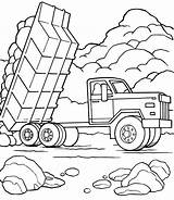 Dump Truck Coloring Construction Pages Vehicles Printable Activityshelter Familyfriendlywork Trucks Sheets Via Getcoloringpages sketch template