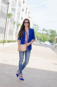 Outfit Of The Day : outfit of the day cobalt blue blazer the classified chic ~ Orissabook.com Haus und Dekorationen