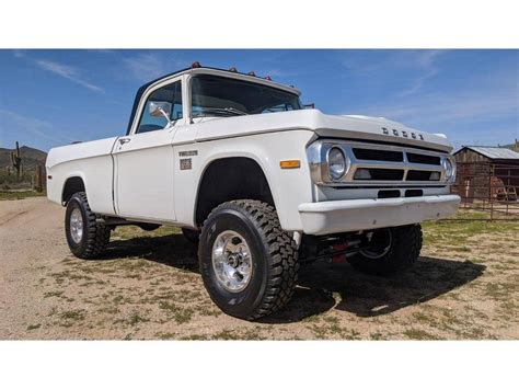 100 cars listed for sale, 4 listed in the past 7 days.including 24 recent sales prices for comparison. 1970 Dodge Power Wagon for sale #2397660 - Hemmings Motor News