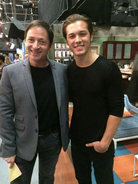 leo howard visited rob lotterstein the of k c undercover february 4 2015 4