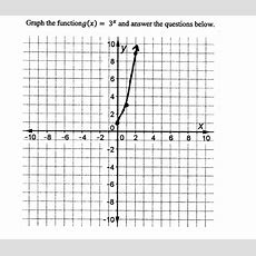 Graphing An Exponential Function