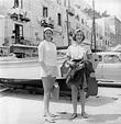The actress Ingrid Bergman and her daughter Pia Lindstrom ...