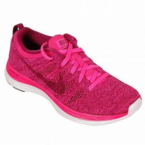 Nike Flyknit Lunar 1+ Women's Running Shoe Pink