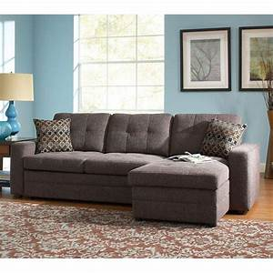 gus right chaise sectional w pull out bed coaster With ashley pull out sofa bed