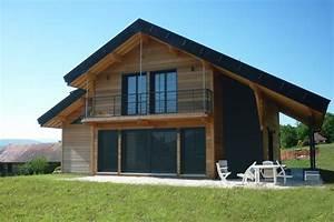 maison ossature bois avis stunning modle de maison With maison ossature metallique avis