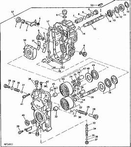 John Deere 185 Hydro Parts Diagram