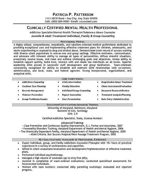 22099 guidance counselor resume therapist counselor resume exle the of therapy