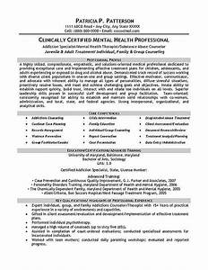 therapist counselor resume example the art of therapy With counselor resume sample