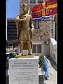 New statue of the last Byzantine emperor Constantine XI ...