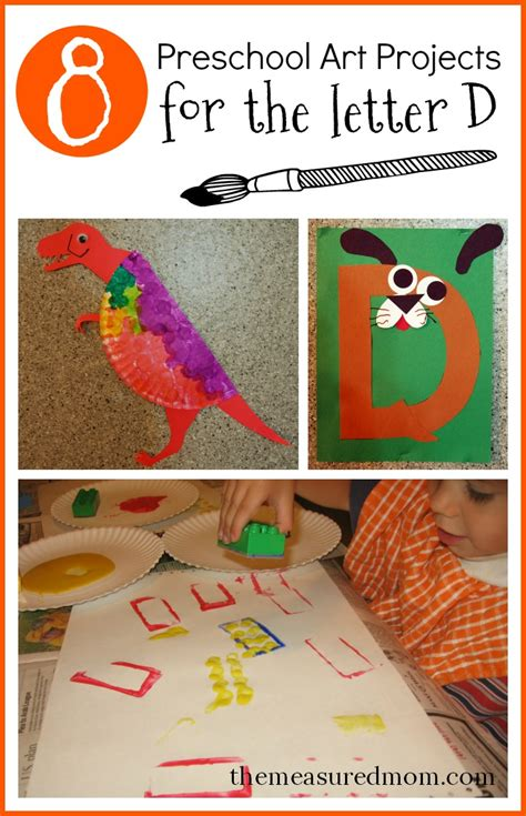 8 letter d crafts the measured 303 | preschool art projects for letter D
