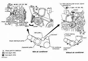 1999 Infiniti I30 Serpentine Belt Routing And Timing Belt