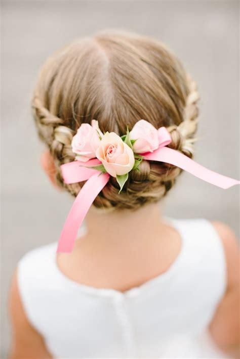 des coiffures pour petites filles qui vont vous faire craquer coiffures et mariage