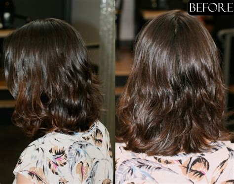 Before And After To Brown by Subtle Highlights Jonathan George