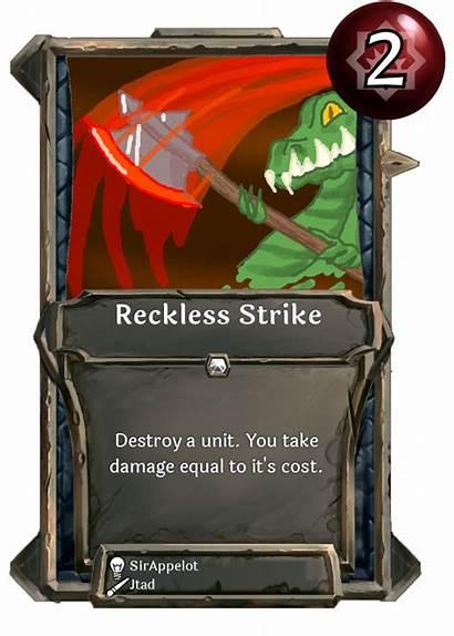 Card Reckless Strike Week