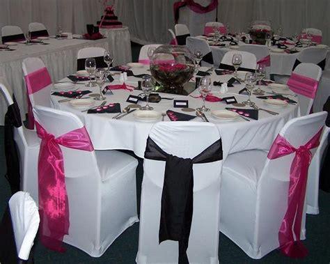 wedding themes wedding style pink and black wedding decoration