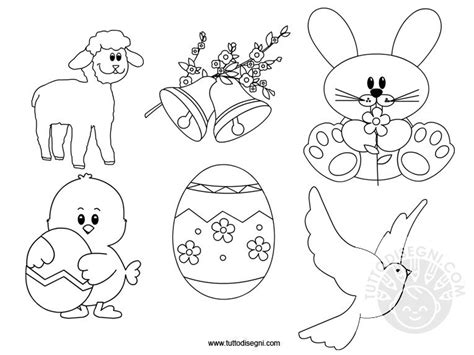 schede da colorare sulla primavera scuola dellinfanzia disegni di pasqua da colorare