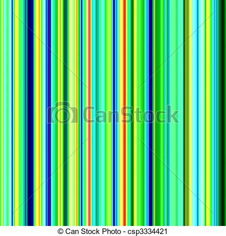 clipart of decorative trendy colorful stripes abstract