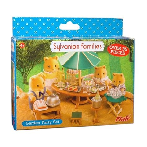 Sylvanian Families Garden Party Set  Toy  At Mighty Ape