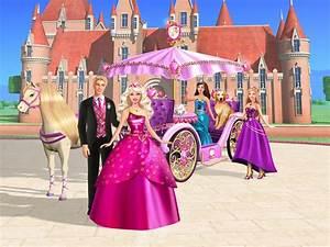 Online Cartoonz Barbie Princess Charm School Animated