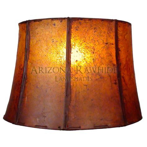 Rawhide L Shades by Large Barrel Table L Rawhide Shade Arizona Rawhide