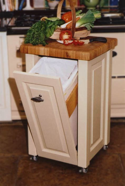kitchen island with trash bin sabin designs joinery shepherds huts worcesterhsire kitchen islands