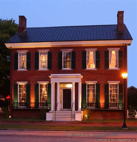 Wilson House - historic augusta incorporated preserving a legacy of