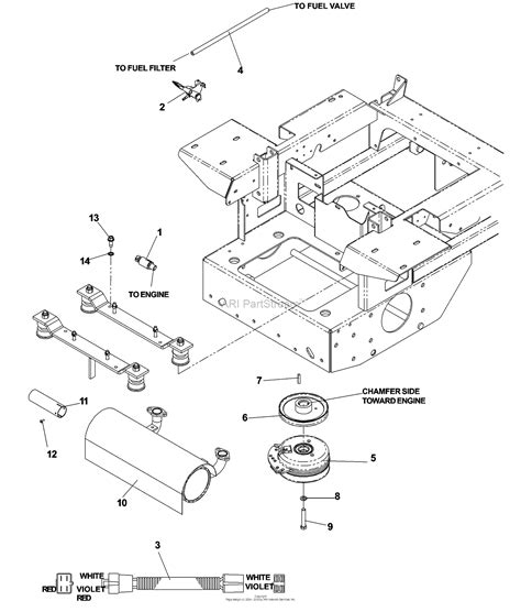 Kohler charging systems and parts. Dixon KODIAK 60 25HP KOHLER - 968999580 (2007) Parts Diagram for ENGINE KOHLER 25 HP