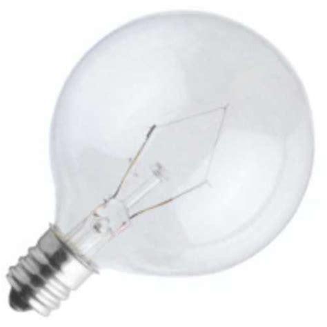 incandescent light bulb small clear bulb