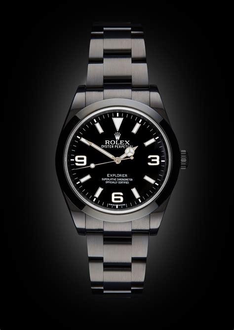 Rolex Explorer: MK1 | Titan Black