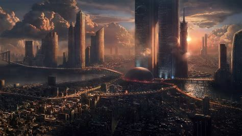 Choose from a curated selection of city wallpapers for your mobile and desktop screens. Futuristic City Wallpaper 20