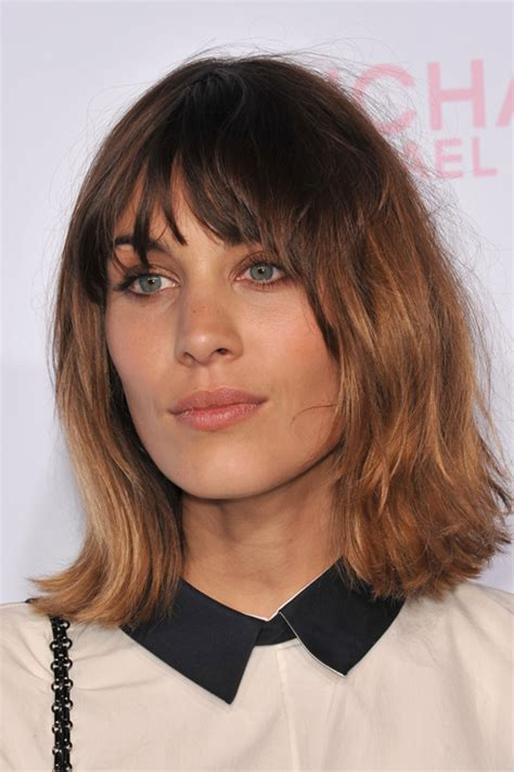 Alexa Chung's Hairstyles & Hair Colors   Steal Her Style