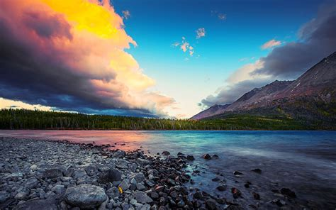Superb Sky Over Beautiful Lscape Hd Wallpaper 600994 ...