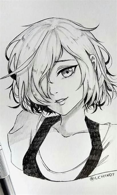 Anime Manga Drawing Drawings Sketches Draw Basic