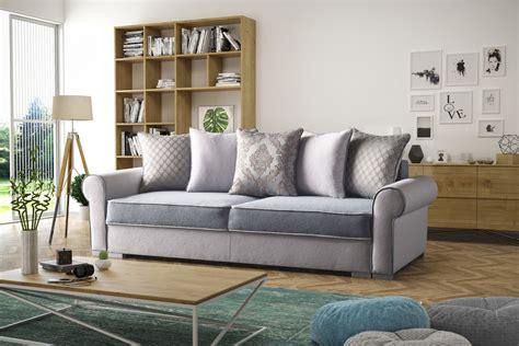 sofa 3 sitzer landhausstil polstersofa sofa 3 sitzer mit schlaffunktion