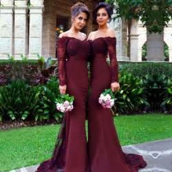 bridesmaid dresses in burgundy best 25 maroon bridesmaid dresses ideas on maroon wedding colors maroon wedding