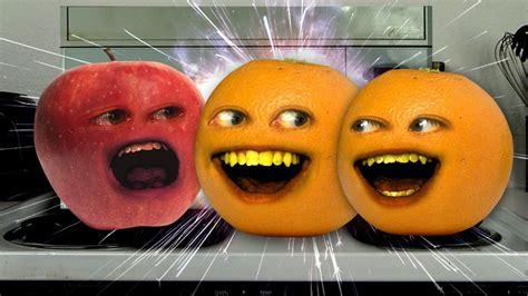 annoying orange microwave effect youtube