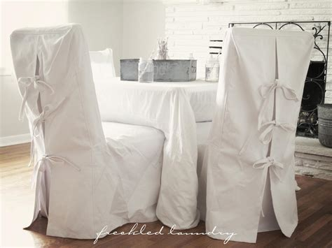 pottery barn chair slipcover pottery custom chair slipcovers ribbons and inspiration